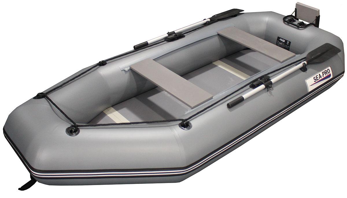 Надувная лодка Sea pro 280k grey