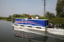 Прогулочные понтонные лодки Комфорт