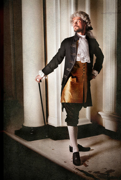 Mid 1700s Male Court Costume