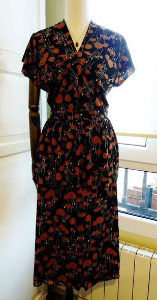 Early 1940s two-piece outfit