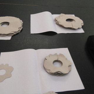 Pieces for costume construction