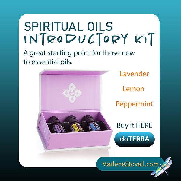 Spiritual Oils Introductory kit Marlene.