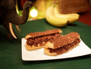 チョコレートバナナエクレア