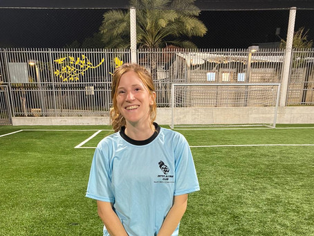 Meet Our Players - Alina Brosque