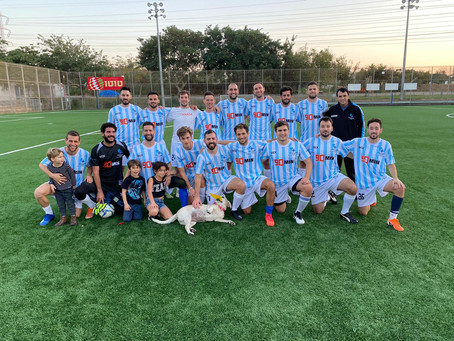 Inter B 6-0 USSR: Emphatic Victory Against League's Bottom Clubs Keeps Us in Reach of Promotion