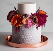 Gâteau fleuri
