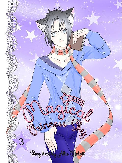 Magical Princess Sky Volume 3, original self-published manga style comic book