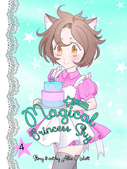 Magical Princess Sky Volume 4, original self-published manga