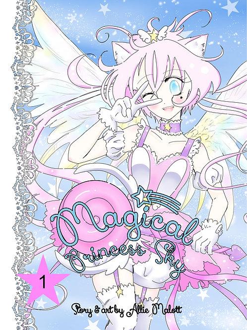Magical Princess Sky Volume 1, original self-published manga