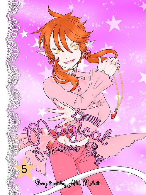 Magical Princess Sky Volume 5, original self-published manga style comic book