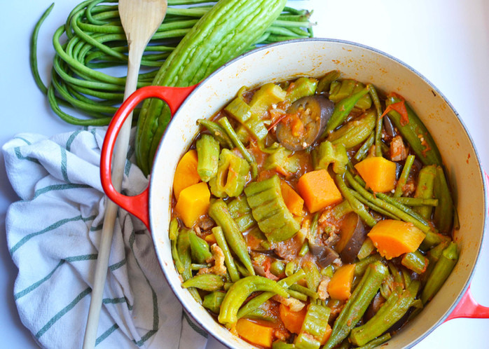 #FilipinoFoodSessions - Pinakbet: A Family Fave Veggie Packed Dish!