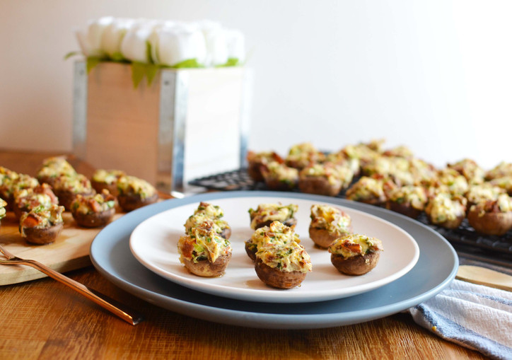 Bacon Stuffed Mushrooms - The appy you need for your next part-ay! Woot Woot!