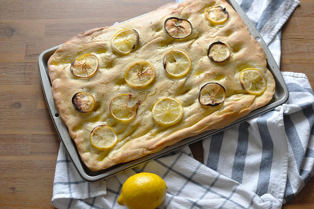 Lemon & Rosemary Focaccia