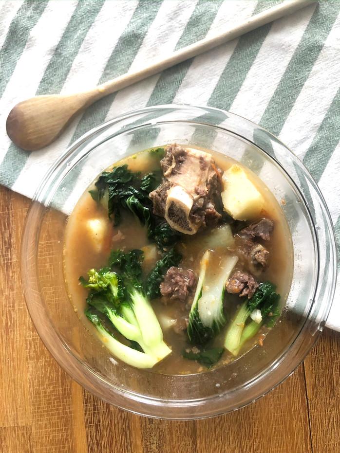 Instant Pot - Beef Nilaga (Filipino Beef Bone Broth Soup)