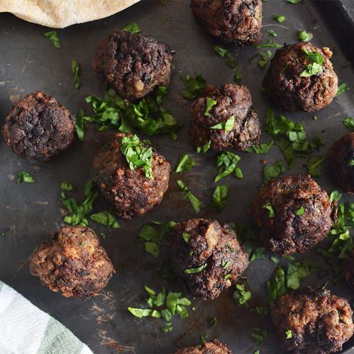 Greek style meatballs