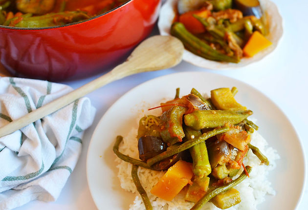 FilipinoFoodSessions - Pinakbet: A Family Fave Veggie Packed Dish!