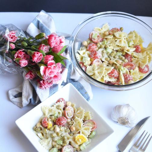 Green Goddess Pasta Salad
