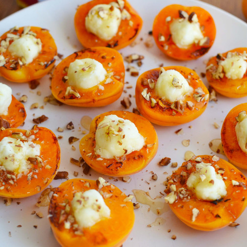 Grilled Apricot