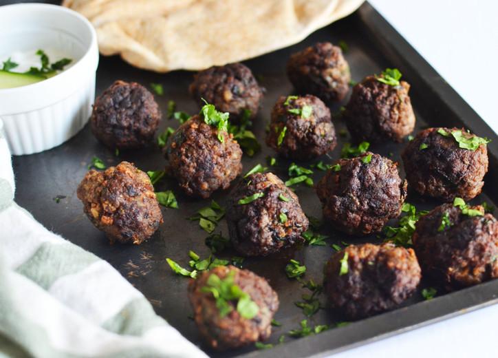 Delicious Greek-Style Meatballs!