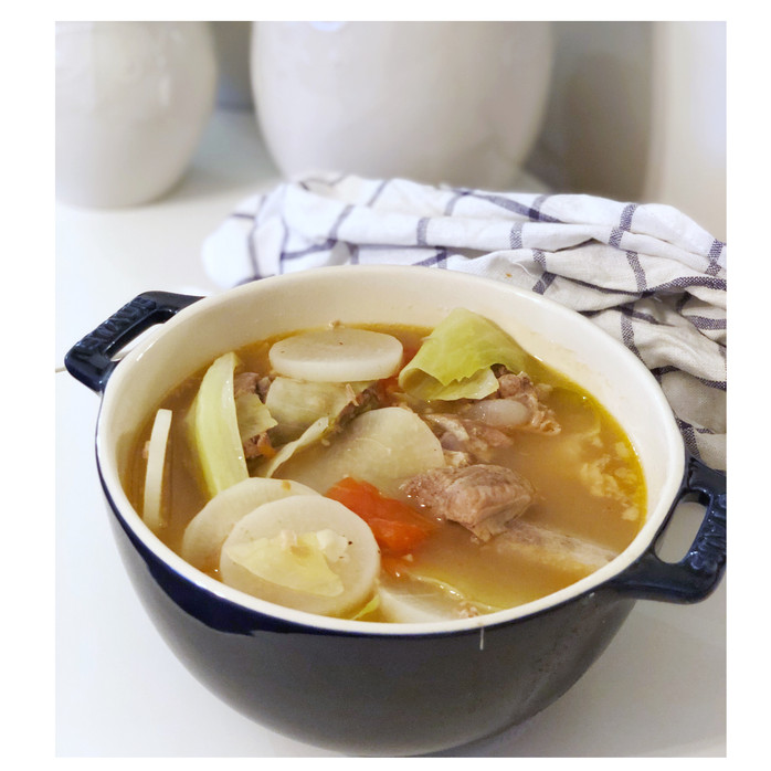 Instant Pot Pork Ribs Sinigang