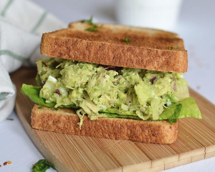 Avocado Chicken Salad - No Mayo & Dairy Free