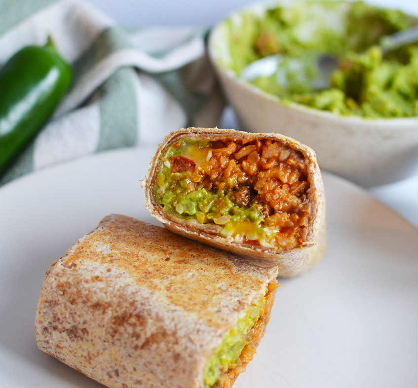 Basic Burritos with Mexican-Style Ri