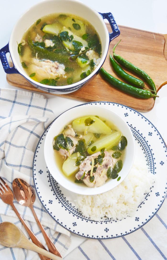 Instant Pot Chicken Tinola