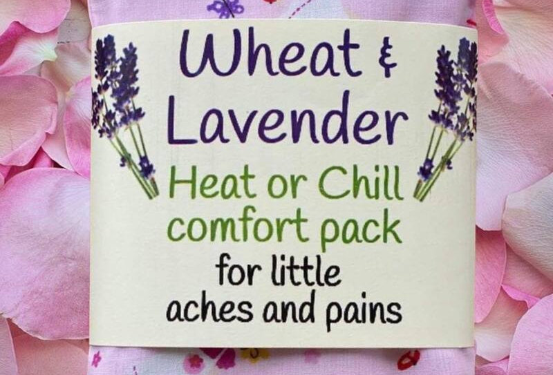 Wheat and Lavender Heat or Chill pack - Princesses - Small