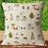 Thumbnail: Woodland Owls cushion cover - fox - owl - hedgehog - butterflies
