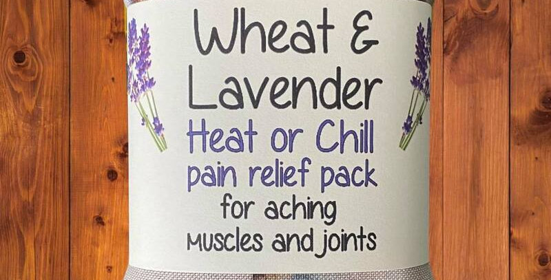 Wheat and Lavender bag - Heat pack/Chill pack - Healing, Pain relief, PUGS