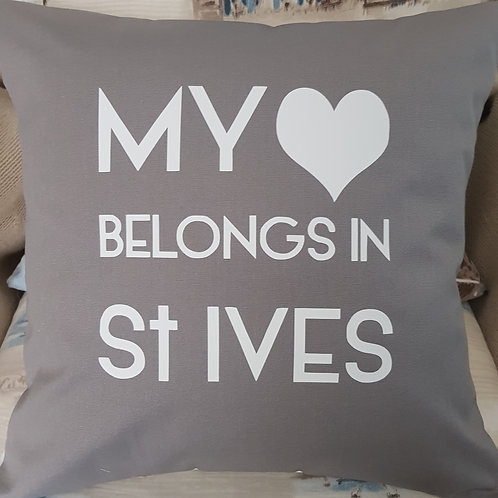 My heart belongs in St Ives - includes pad - 3 colours