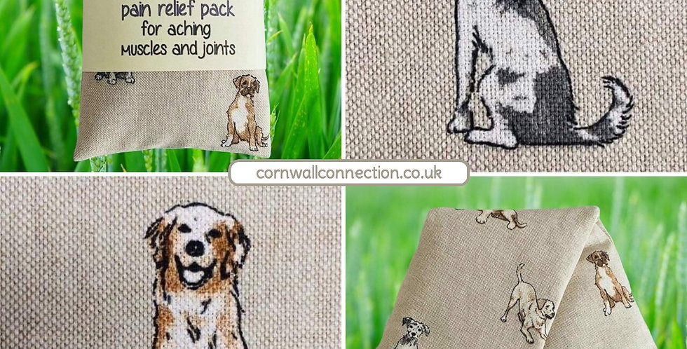 Wheat and Lavender bag - Heat/Chill pack - Healing, Pain relief, Dogs & Puppies