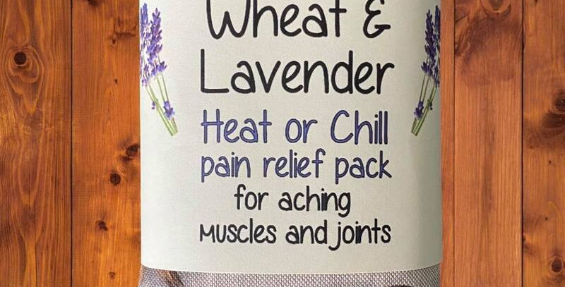 Wheat and Lavender bag - Heat pack/Chill pack - Healing, Pain relief, OWLS