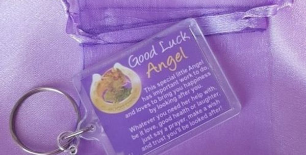 Keyring - GOOD LUCK ANGEL or MAGIC WISHING FAIRY