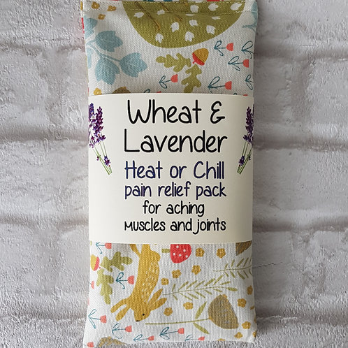 Wheat & Lavender Heat pack/Chill pack, COUNTRY Microwave/Freezer, Healing,MEDIUM