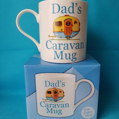 Dad's caravan mug - boxed - Fathers day - Holiday - Caravan - Camping - Cup