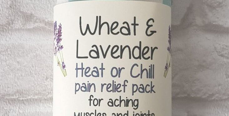 Wheat and Lavender bag - Heat pack/Chill pack - Healing, Pain relief -Dachsunds
