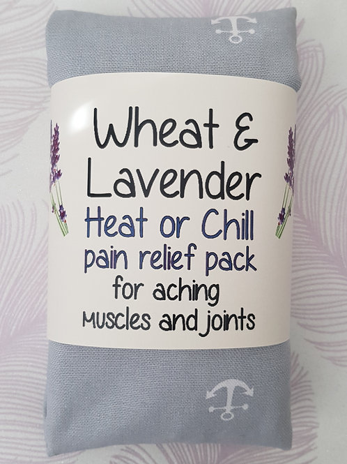 Wheat and Lavender bag - Heat pack/Chill pack - Healing, Pain relief - Anchors