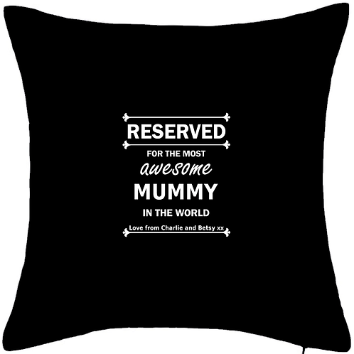 """RESERVED for the most awesome MUMMY - LARGE 20"""" x 20"""" cuddle cushion with insert"""