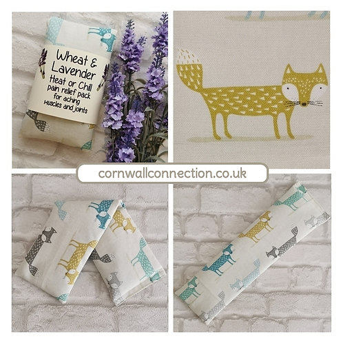 Wheat & Lavender bag - Heat/Chill pack - Healing, Pain relief - Scandi Fox