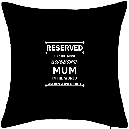 """RESERVED for the most awesome MUM - LARGE 20"""" x 20"""" cuddle cushion with insert"""