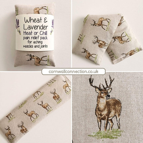 Wheat and Lavender bag - Heat pack/Chill pack - Healing, Pain relief STAG design