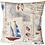 Thumbnail: Nautical Lighthouse, Boats, Anchors, Shells, Maps Cushion cover - Coastal - Sea