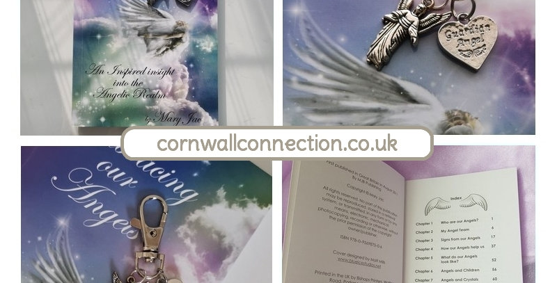 FREE Guardian Angel Keyring WITH the Embracing our Angels book - by Mary Jac