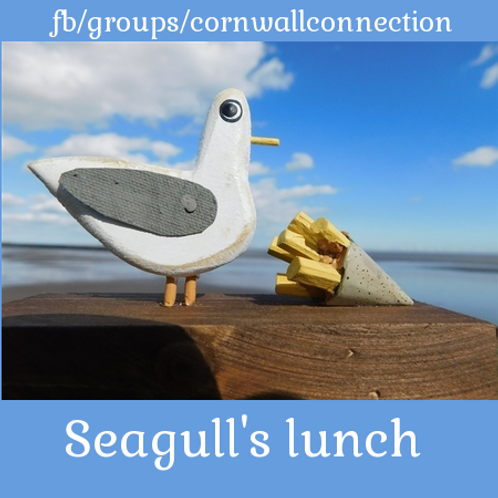 Seagull's lunch - Gull and chips - By Shoeless Joe