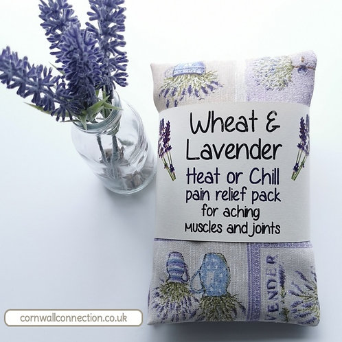 Wheat and Lavender bag - Heat pack/Chill pack - Healing, Pain relief - Lavender