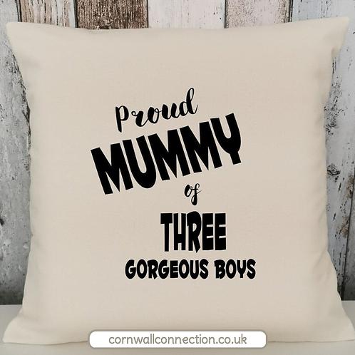 Proud Mummy - Mumma - Daddy - Parents - 2/3/4 Boys Girls Kids