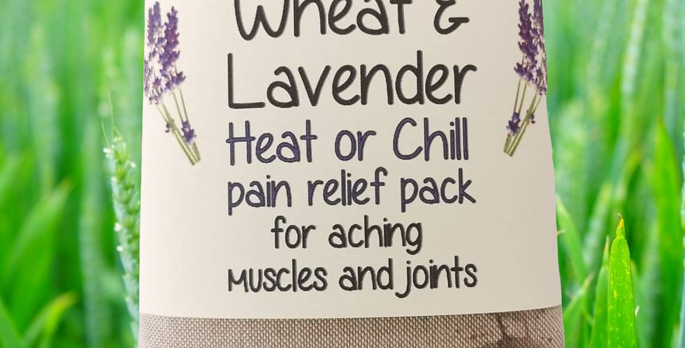 Wheat & Lavender Heat/Chill pack - Healing Pain relief - Robins