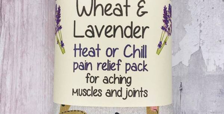 Wheat and Lavender bag - Heat/Chill pack - Healing, Pain relief,  Sausage dogs