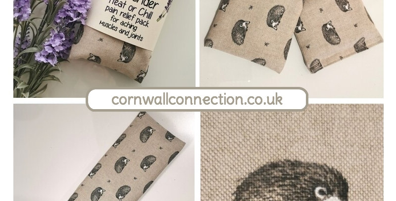 Wheat and Lavender bag - Heat pack/Chill pack - Healing Pain relief HEDGEHOGS